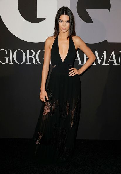 Kendall was wearing Elie Saab