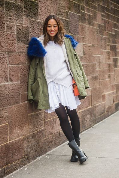 Street Style - Day 2 - New York Fashion Week Fall 2015
