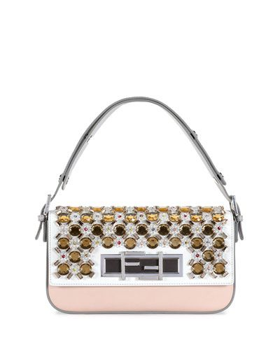Fendi 3Baguette Jeweled shoulder bag