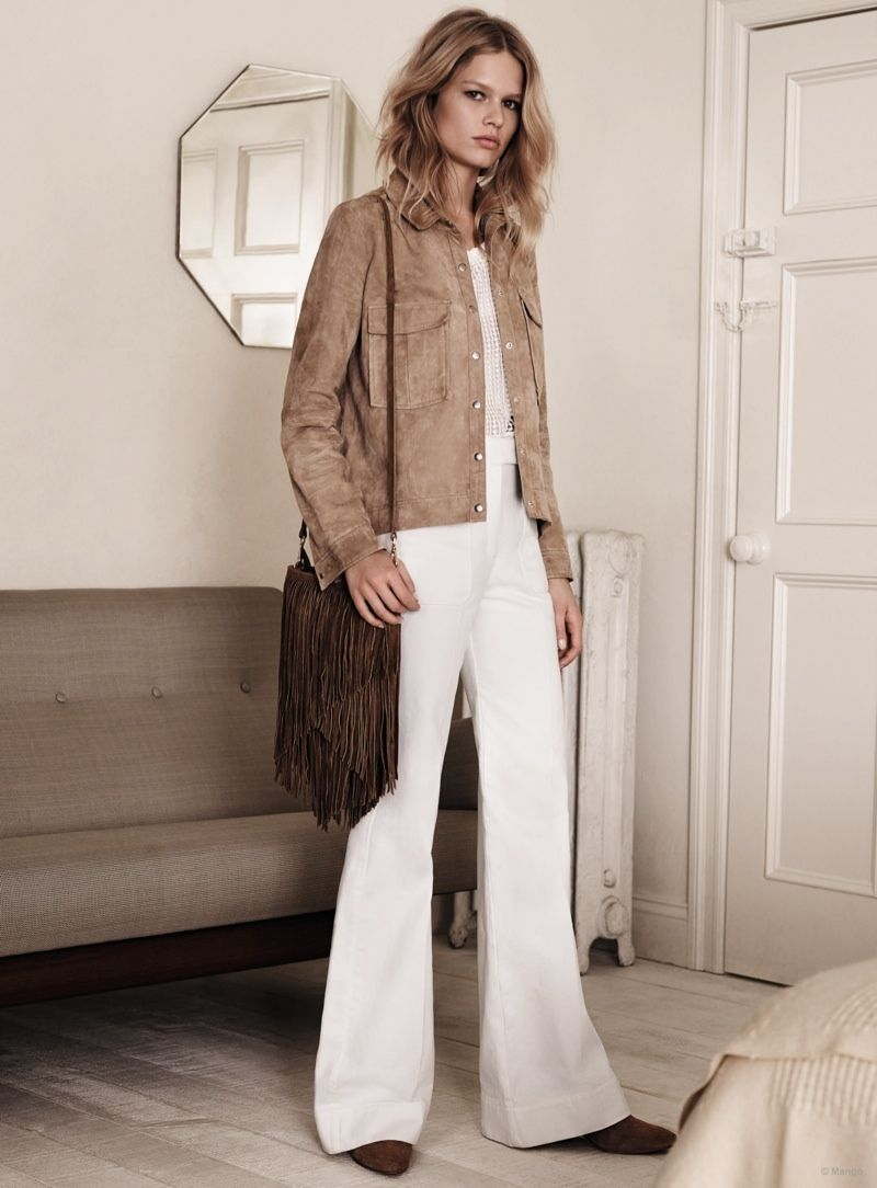 Ewers anna for mango spring campaign