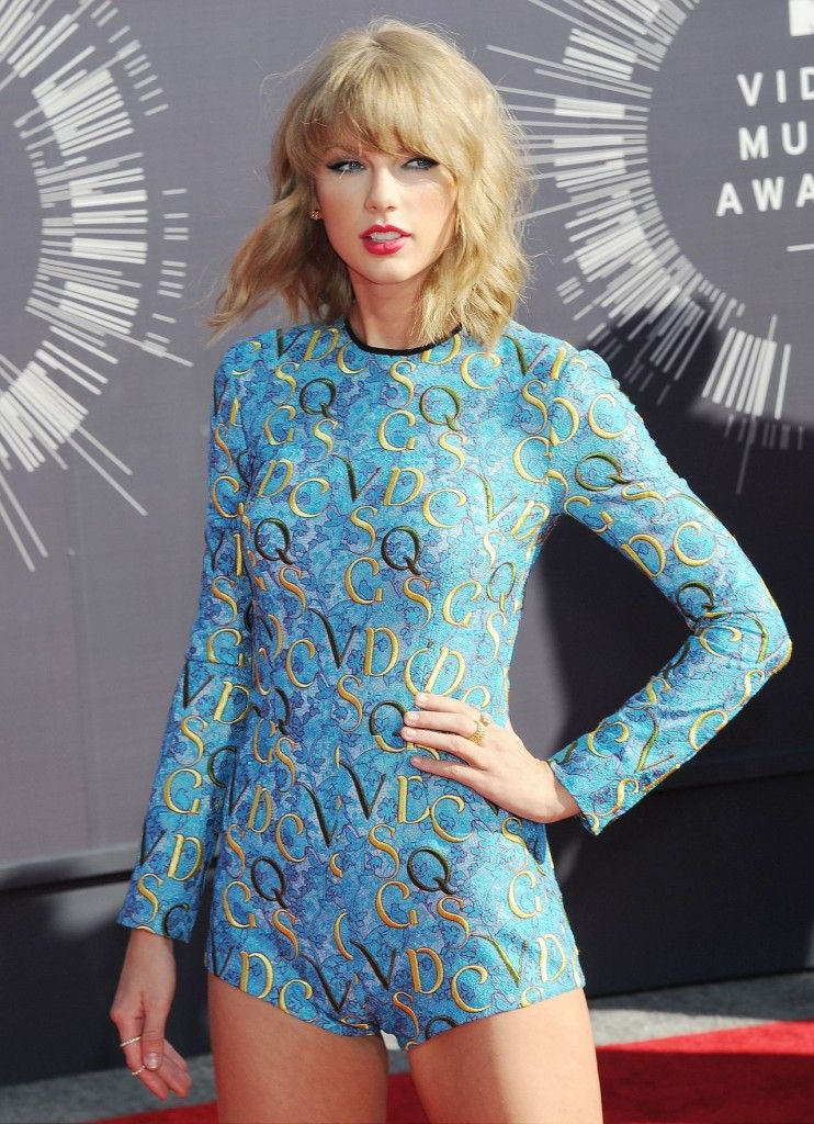 Remember her 2014 MTV Video Music Awards red carpet look (a mary Katrantzou Resort 2015 romper)?