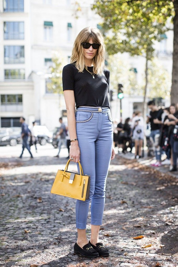 You can buy Veronika's jeans from NET-A-PORTER