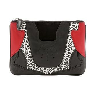 Sneaker flat clutch available at SHOPBOP.com