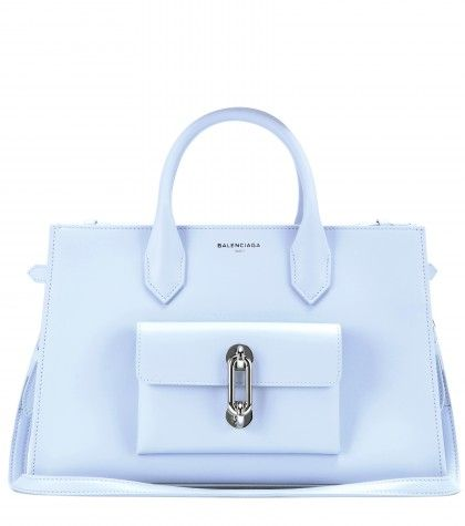 Balenciaga Maillon leather tote available at MYTHERESA.com