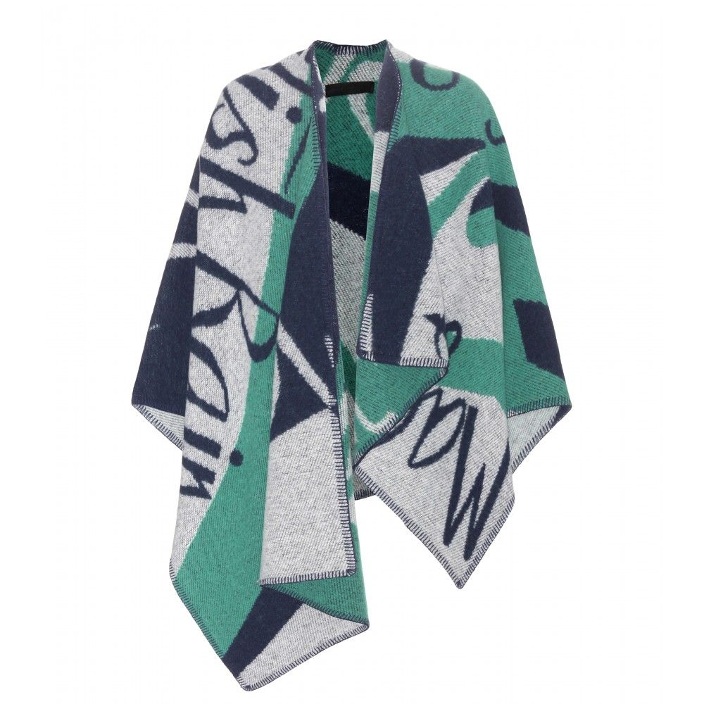 Burberry Prorsum wool and cashmere poncho available at MYTHERESA.com