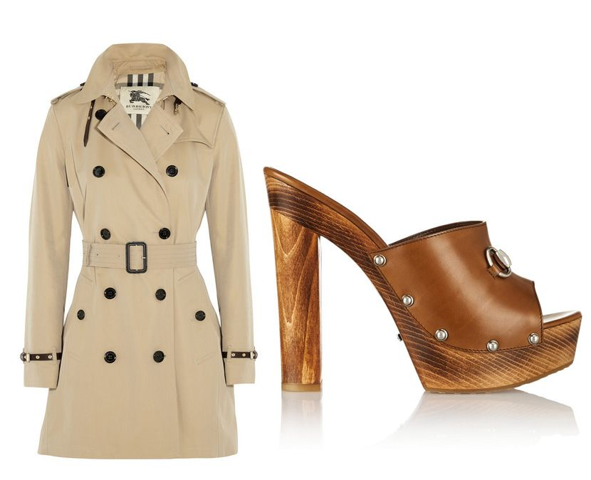 Burberry London trench coat available at