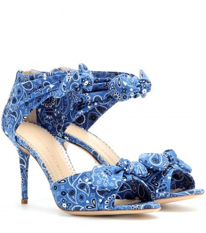 Charlotte Olympia Patty printed sandals available at MYTHERESA.com