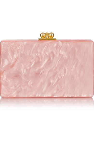 Edie Parker acrylic box clutch available at NET-A-PORTER