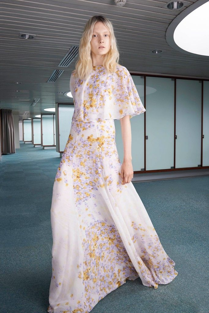 Giambattista Valli floral-print silk-chiffon gown available at NET-A-PORTER