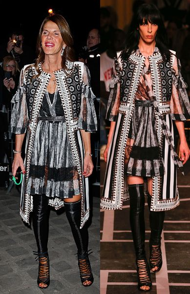 givenchy-fw15-pfw-fashion-show-front-row-anna-dello-russo