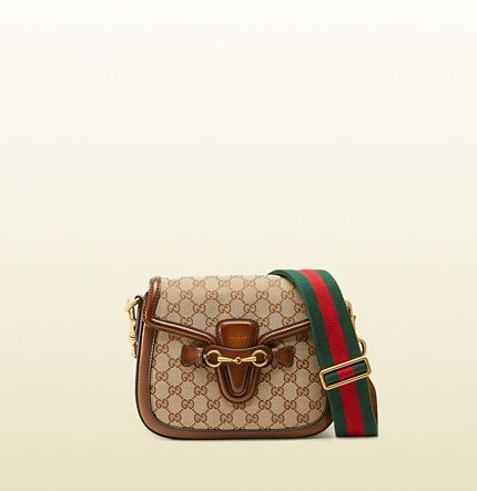 Gucci Lady Web original GG canvas shoulder bag available at GUCCI.com