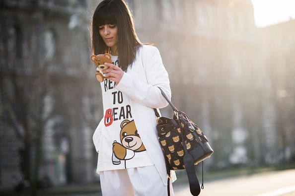 "Laura Comolli's ""Reaty to bear"" T-Shirt is available at SELFRIDGES"