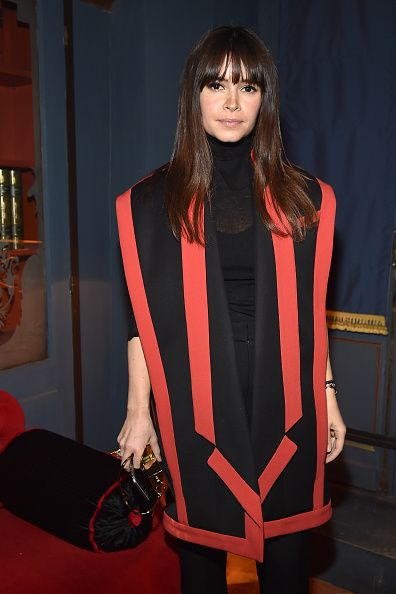 Miroslava Duma in Balmain SS15.  You can buy her oversized