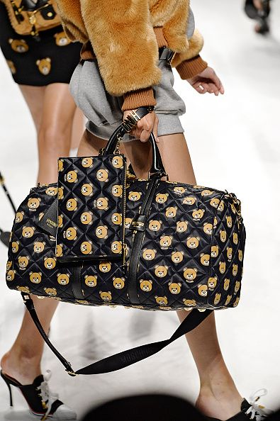 Bear print weekend bag available at NORDSTROM.com