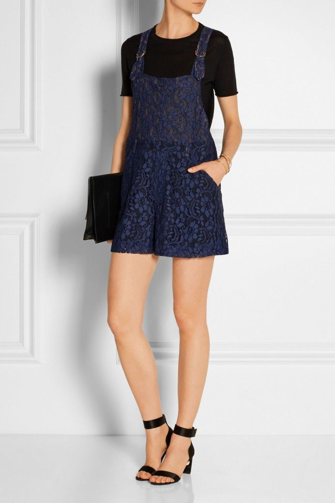 MSGM lace playsuit available at NET-A-PORTER