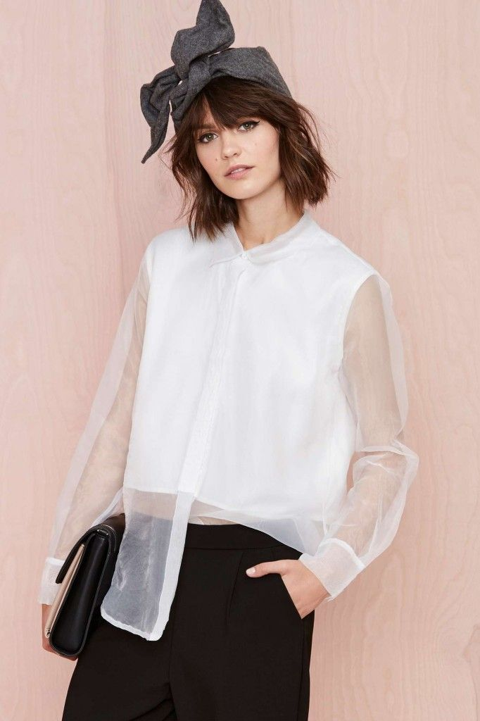 Nasty gal Undercover top available at NASTY GAL