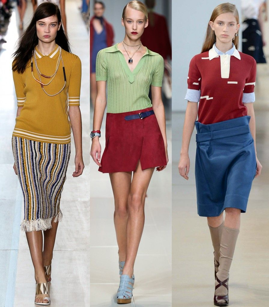 Tory Burch, Trussardi and Jil Sander SS15