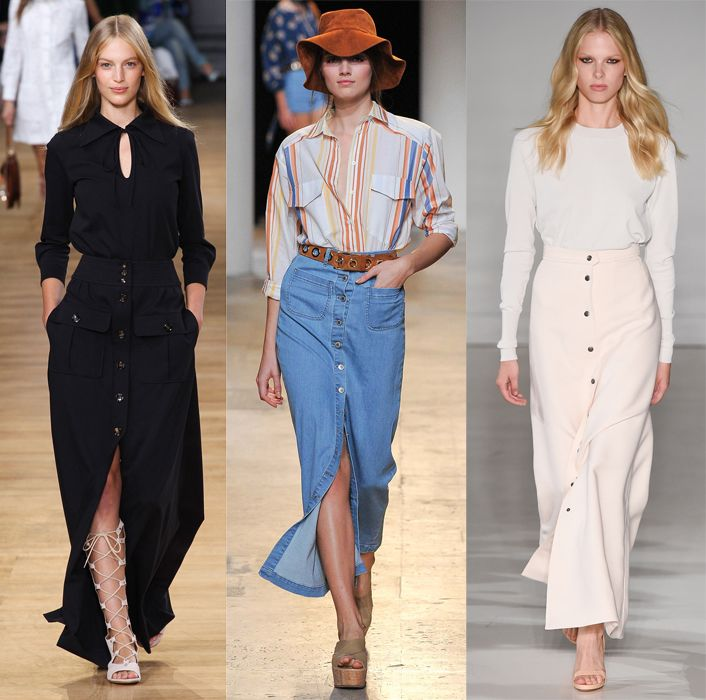 Chloé, Paul & Joe and Jill Stuart SS15 runway looks
