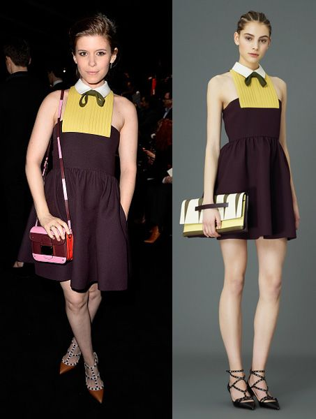 Kate Mara in Valentino Pre-Fall 2015