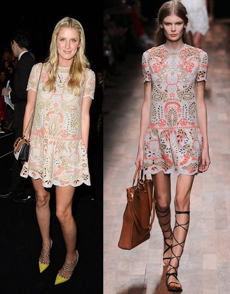 Nicky Hilton in Valentino SS15