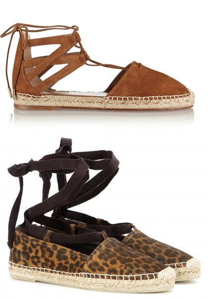 Aquazzura Belgravia suede espadrilles available at NET-A-PORTER