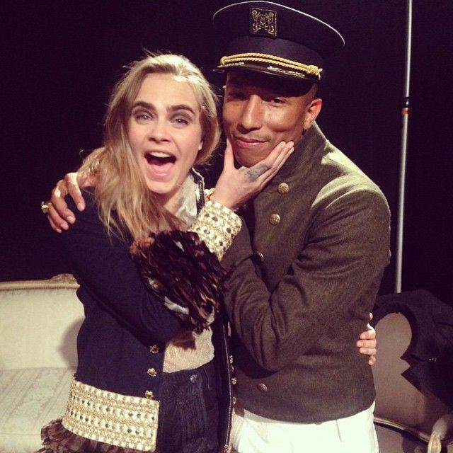 And from Cara and Pharrell