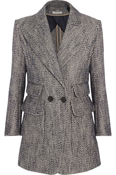 chloe-cotton-and-linen-blend-tweed-blazer