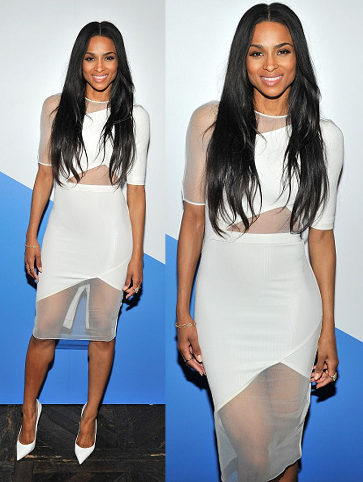 Ciara attended the FORWARD by Elyse Walker & David Koma dinner on April 2, 2015 in West Hollywood, California.