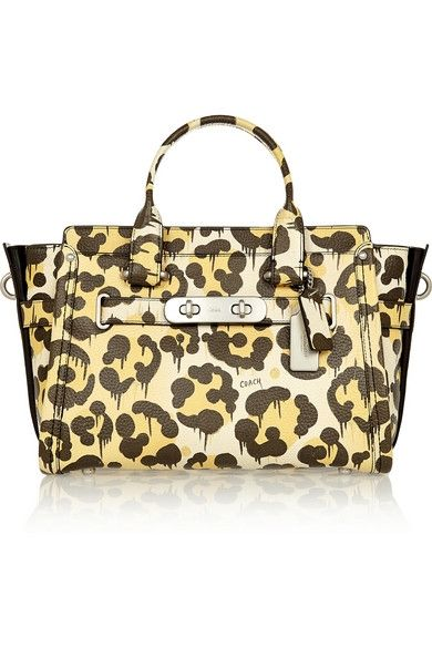 + matching Le Fauve Swagger leopard-print textured-leather tote available at NET-A-PORTER