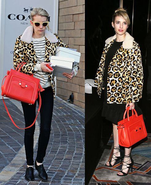 Emma Roberts out and about in Los Angeles, California, on March 04, 2015.