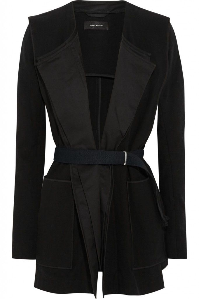 isabel-marant-belted-cotton-crepe-jacket