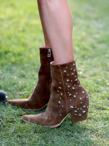 You can pre-order her zip star stuuded booties X Matisse from REVOLVE CLOTHING