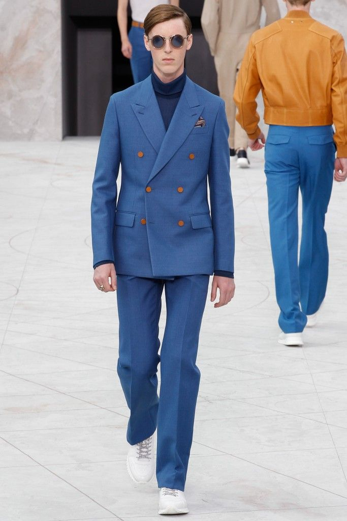 Michiel is wearing Louis Vuitton SS15