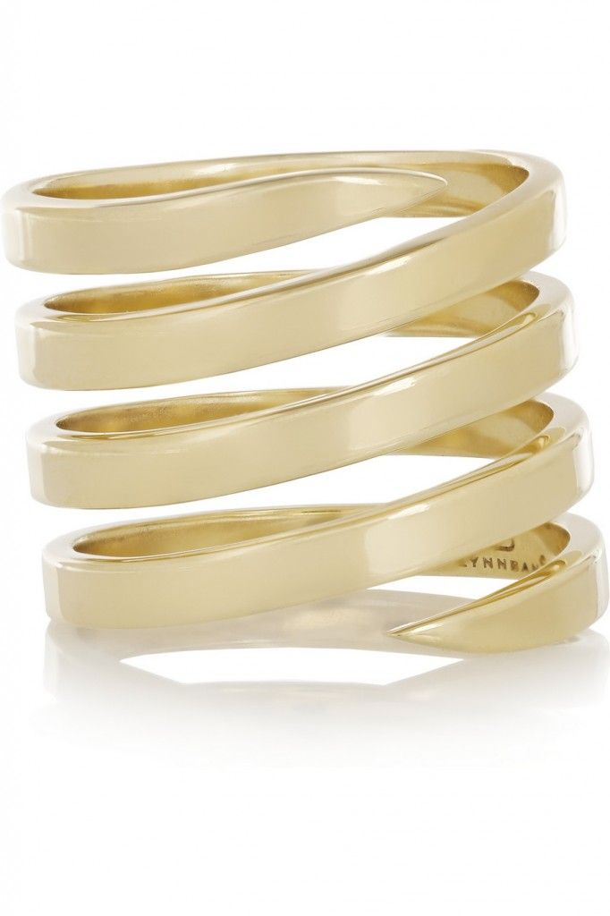 You can buy her Lynn Ban 14-karat gold ring from NET-A-PORTER