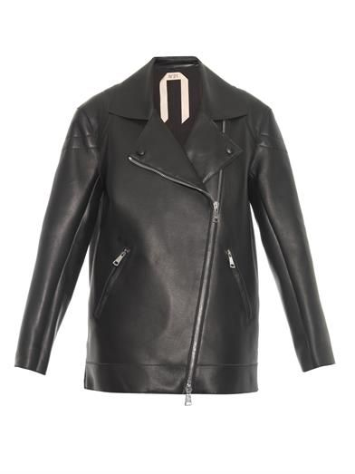 no-21-zip-detail-oversized-leather-jacket