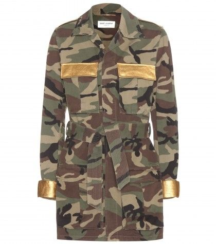 saint-laurent-camouflage-print-cotton-jacket-with-metallic-gold-panels