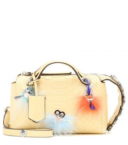 Fendi-By-The-Way-embellished-yellow-python-leather-shoulder-bag-STANDARD