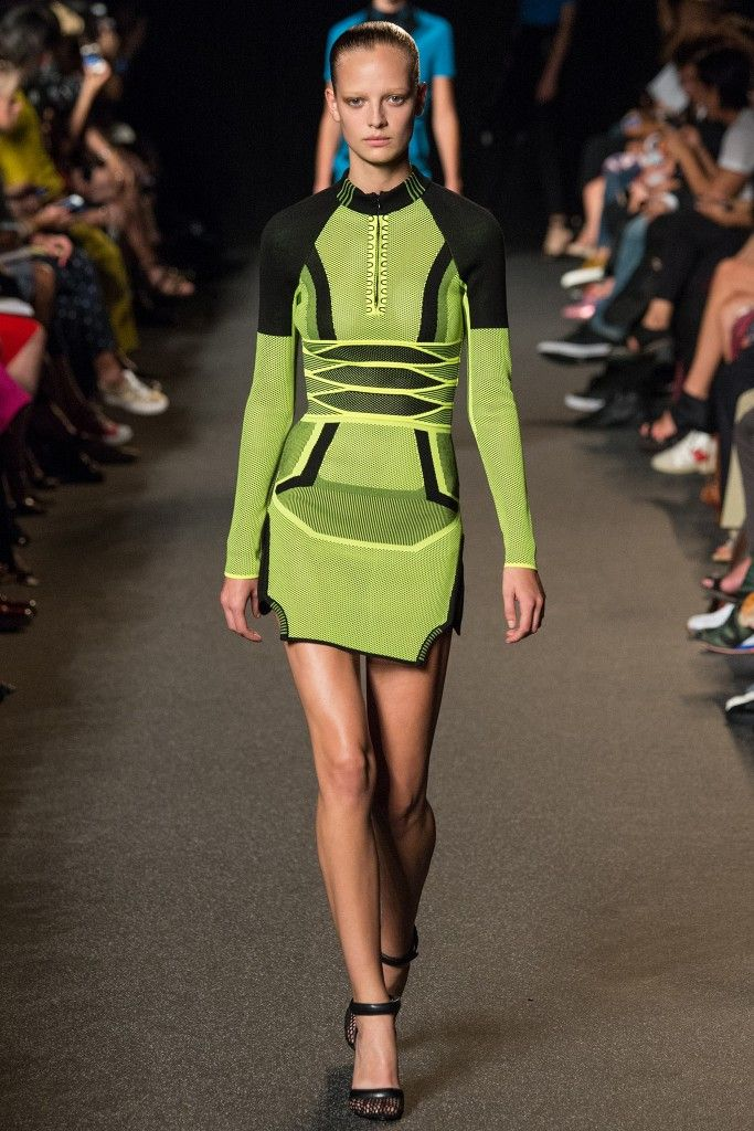 Remember this Alexander Wang fluorescent green mesh mini dress from its Spring/Summer 2015 collection?