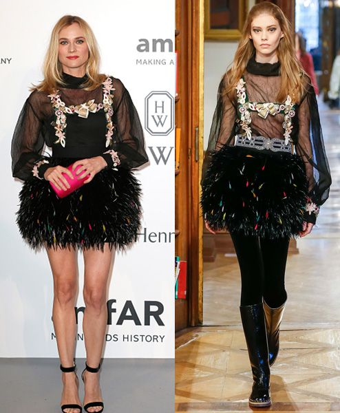 Diane Kruger in Chanel Pre-Fall 2015