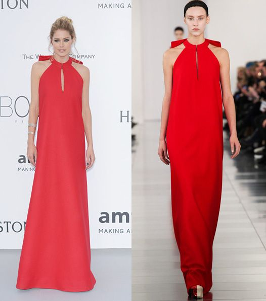 Doutzen Kroes in Maison Margiela Couture SS15