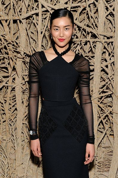 Model Liu Wen attends Liu Wen, Wendi Murdoch, Laurent Claquin x Qeelin Host A Private Cocktail Party To Celebrate The Met Gala Exhibition on May 2, 2015 in New York City.