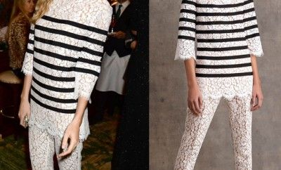 Poppy Delevingne in Michael Kors Pre-Fall 2015