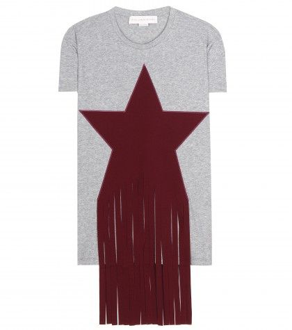 Stella McCartney star embelllished cotton T-Shirt available at MYTHERESA.com