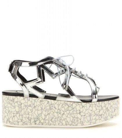 Stella McCartney star platform sandals available at MYTHERESA.com