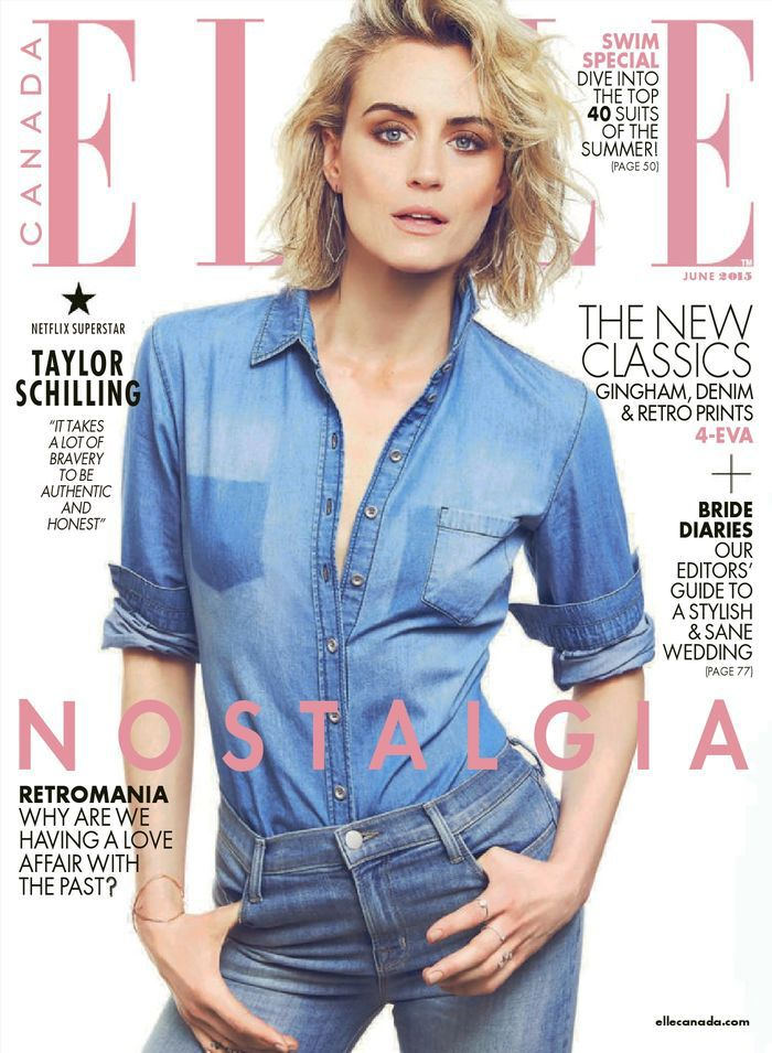 taylor-schilling-double-denim-elle-canada-cover