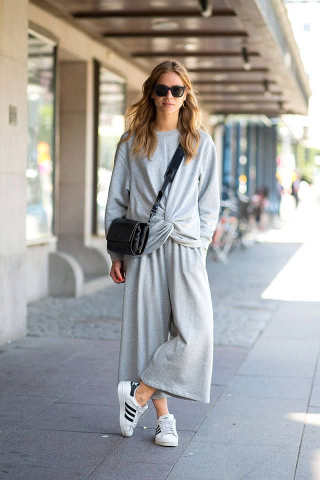 With culottes