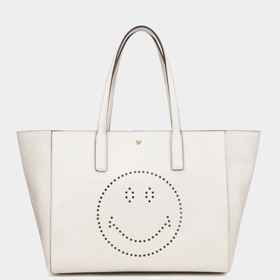 Anya Hindmarch Ebury shopper available at ANYAHINDMARCH.com