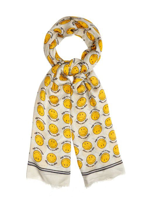 Anya Hindmarch modal scarf available at MATCHESFASHION.com