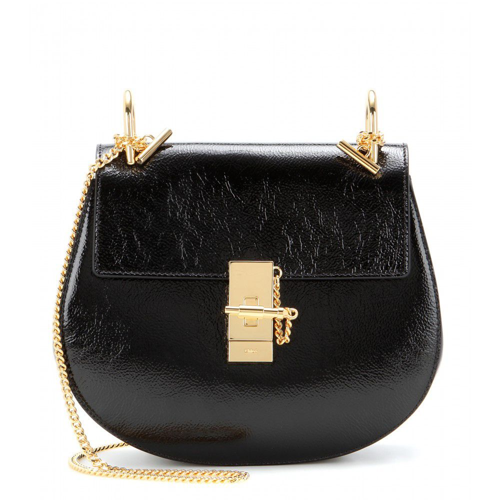 chloe-drew-patent-leather-shoulder-bag