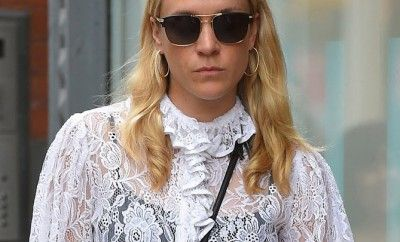 Chloe Sevigny gets steamy on the streets of NYC with her new mystery man